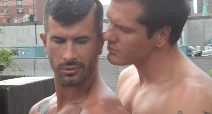 Adam Killian and Parker London Pummel Each Others Prostates in Heat Wave