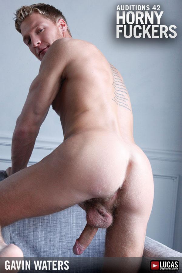 Gavin Waters Is A Horny Bottom