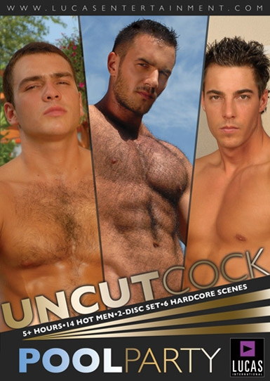 Uncut Cock Pool Party Front Cover