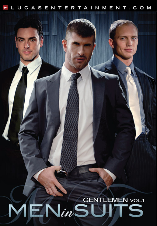 Gentlemen 01: Men in Suits Front Cover