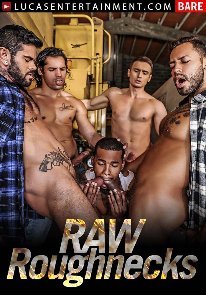 Raw Roughnecks Front Cover