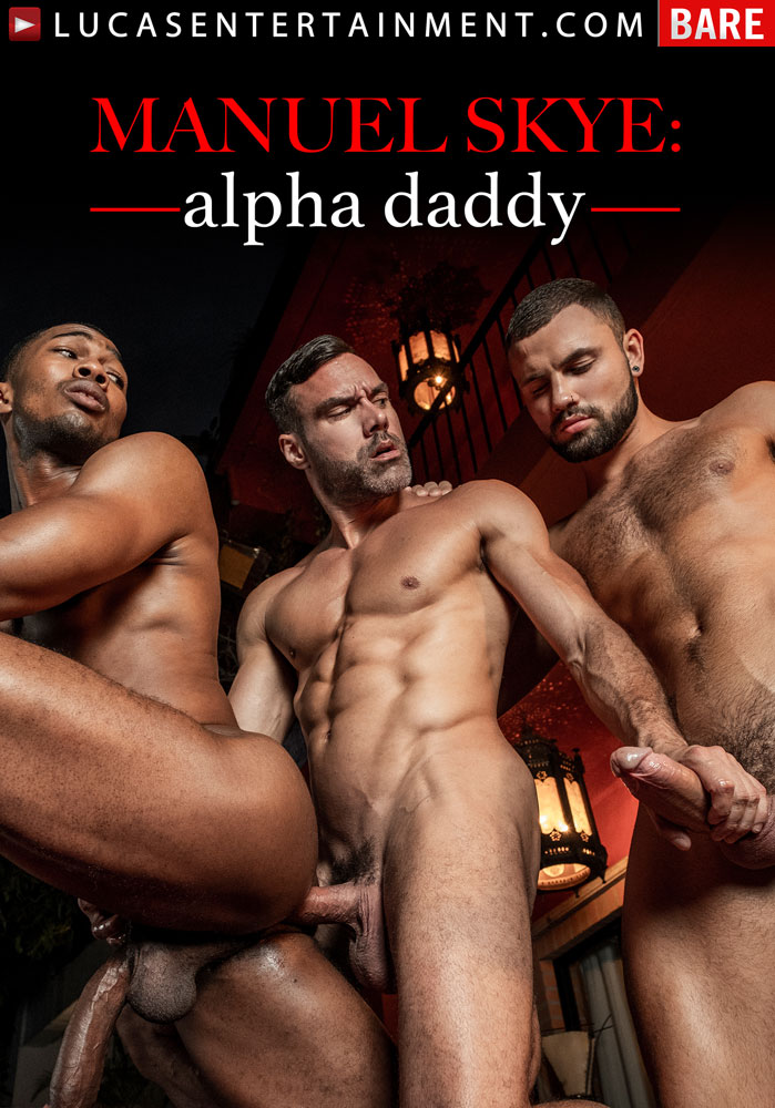 Manuel Skye: Alpha Daddy Front Cover