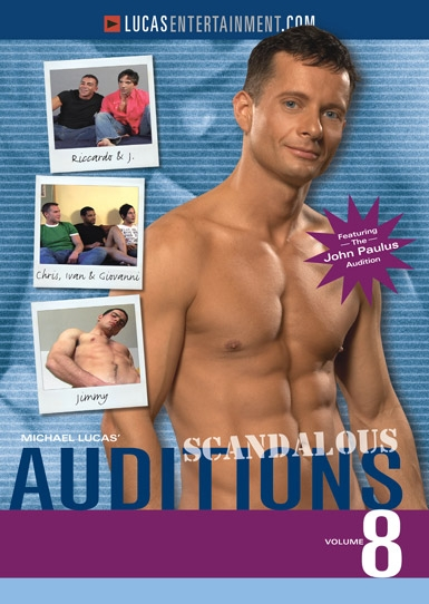 Auditions 08: Scandalous Front Cover