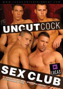 Uncut Cock Sex Club Front Cover