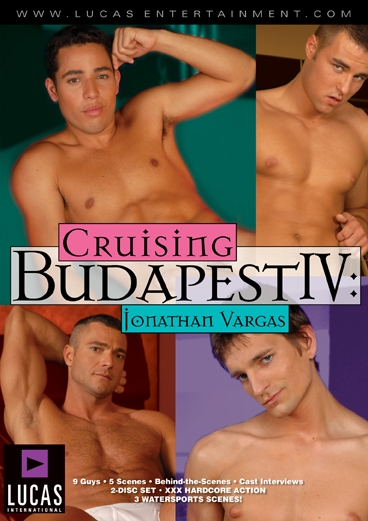 Cruising Budapest IV: Jonathan Vargas Front Cover