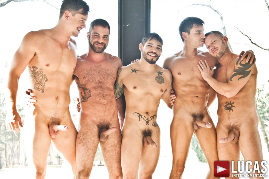 Huge cock orgy gay