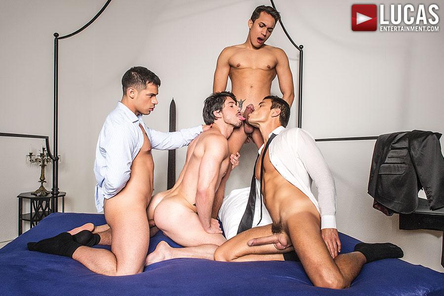 Dicks cum movies gay the guys embark things 4