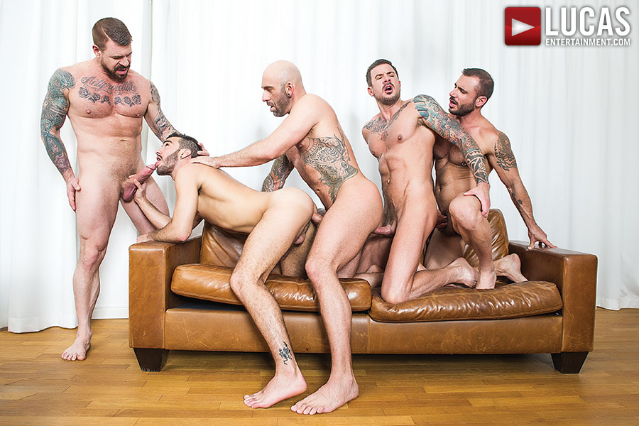 Group jack off tube