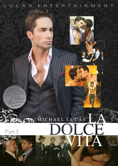 Michael Lucas' La Dolce Vita: Part 1 Front Cover