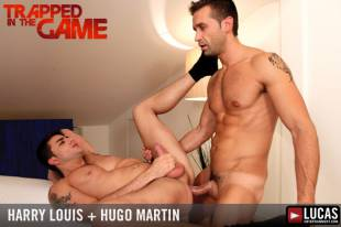 harry louis and hugo martin scene from trapped in the game