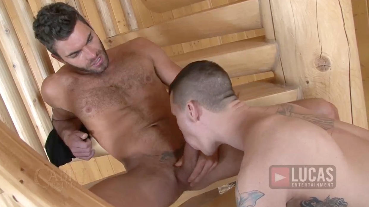 Lucas Exclusives Vito Gallo and Tate Ryder Milk Their Cocks for Cum