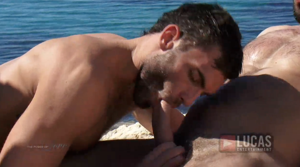 Vito Gallo and Alex Marte Make Love by the Sea