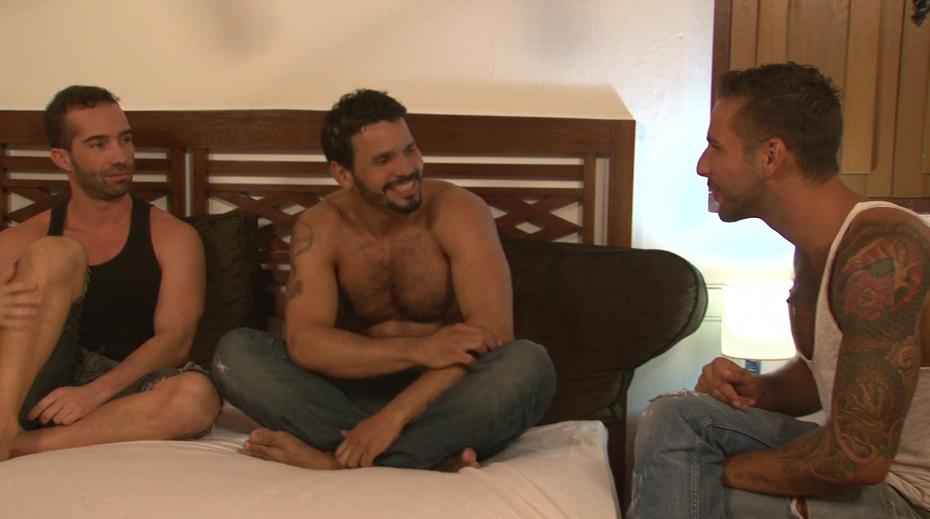 Jonathan Agassi interrogates Jean Franco & Tavor Wolf
