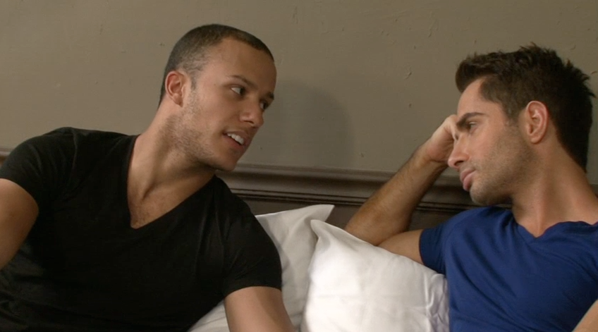 Michael Lucas Interrogates New Lucas Exclusive Franco Ferarri