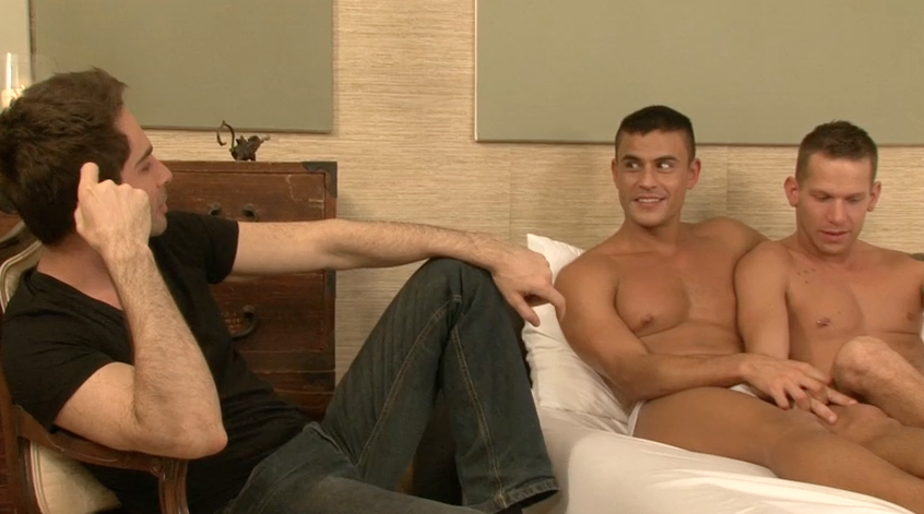 Funny & Sexy Interview with Rafael Carreras & Shane Frost