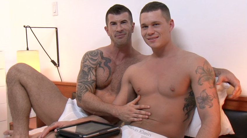 Tate Ryder and Adam Killian Share Secrets Before Their Sex Scene
