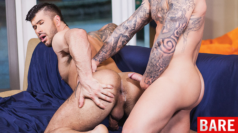free gay porn spanked and fucked on bench