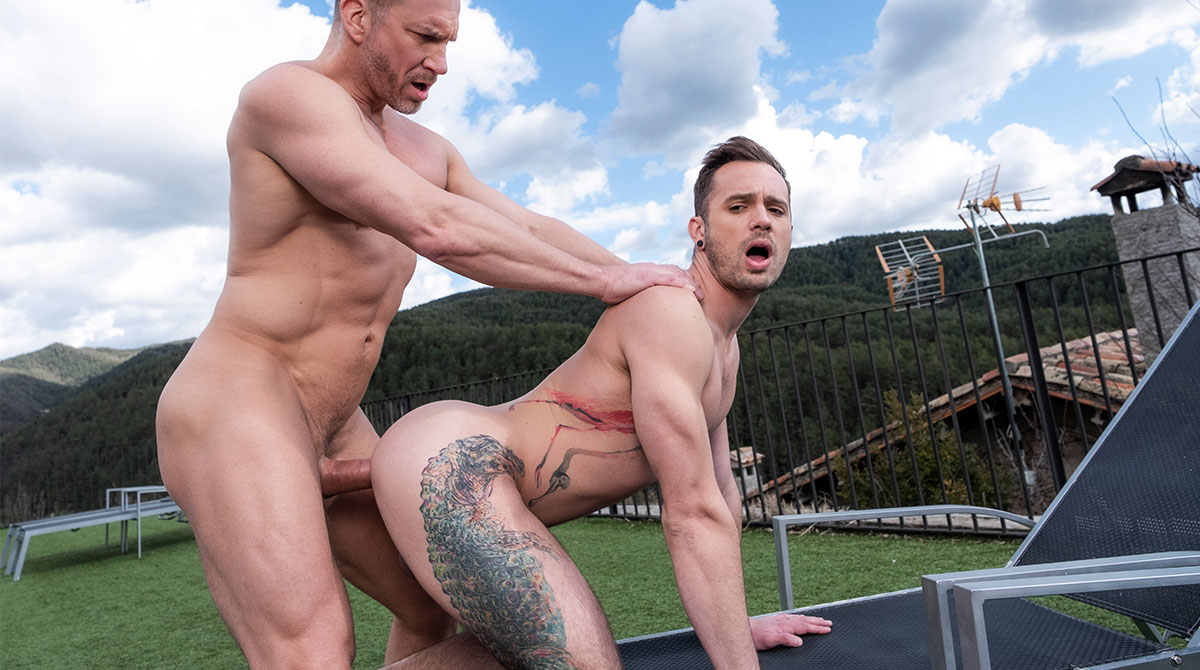 gay muscle leather orgy xvideo