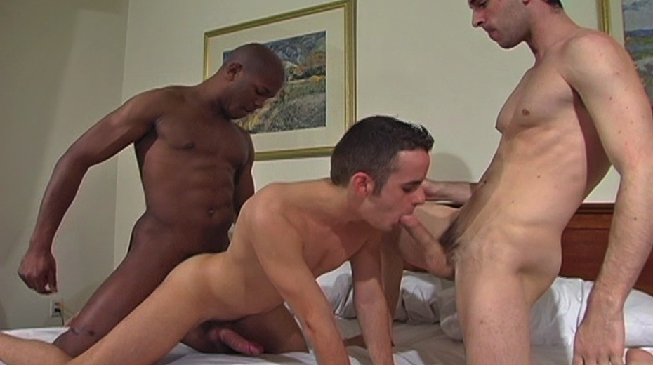 Hot Guys Jason, Jack, and Dario's Interracial Threesome
