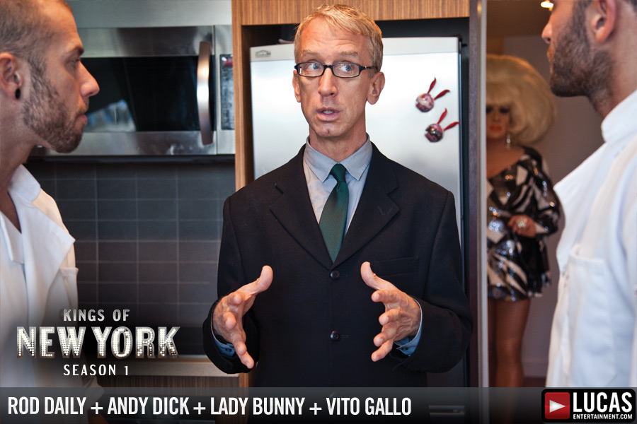 Premiere Kings of New York Trailer with Andy Dick!
