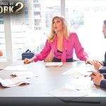 Candis Cayne Rules Over Sean Xavier and Duncan Black – On The Set