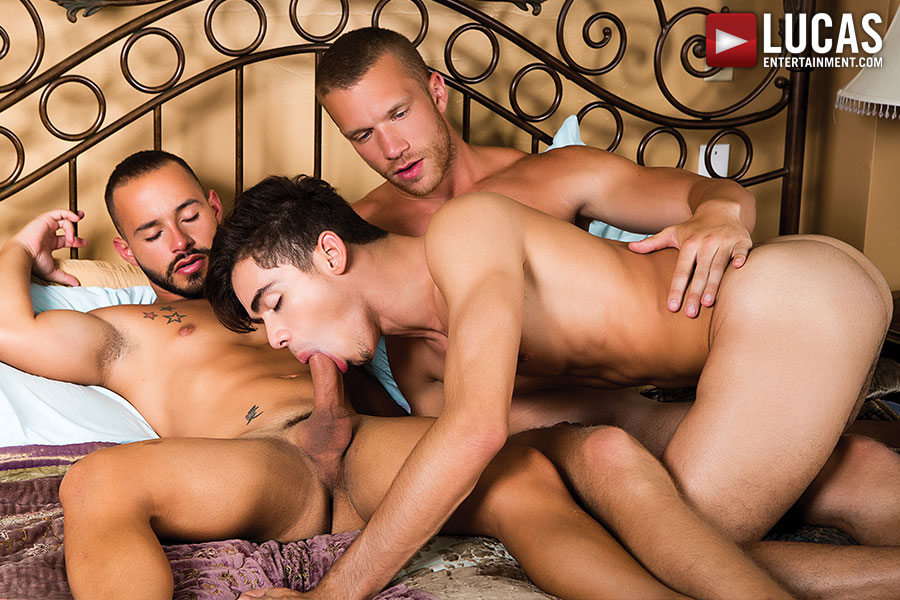 Rafael Lords And Jake Andrews Kick Off A Bareback Boyfriend Swap