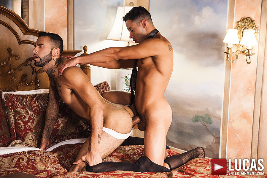 Drae Axtell And Rikk York | Two Hot Latin Men In Suits