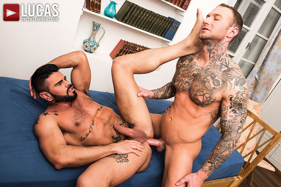 Dylan James Has A Huge Dick In His Pants For Mario Domenech Today