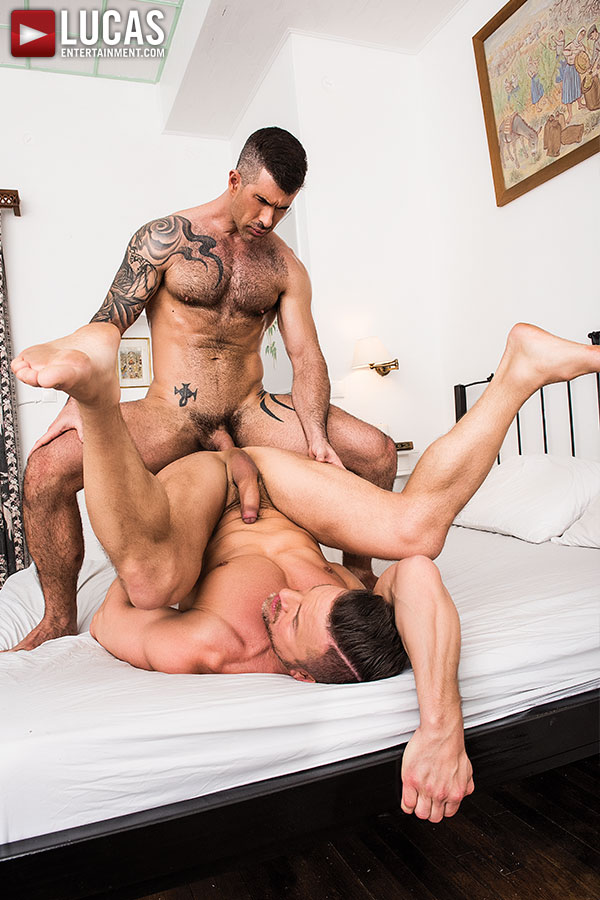 Exclusive Bareback Sex Scene: Adam Killian Owns Tomas Brand's Ass