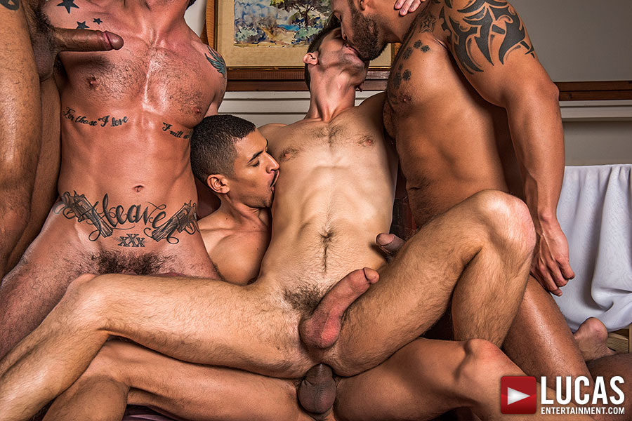 Devin Franco's Bareback Gang Bang Debuts This Friday