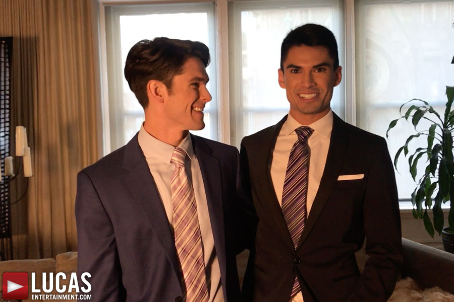 Behind-The-Scenes Sex Footage Featuring Devin Franco And Lee Santino