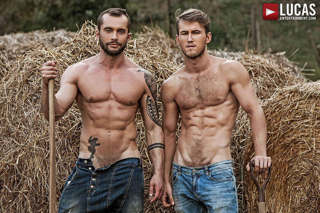Marq Daniels And Tyler Berg Are Beyond Sexy In 'Raw Roughnecks'