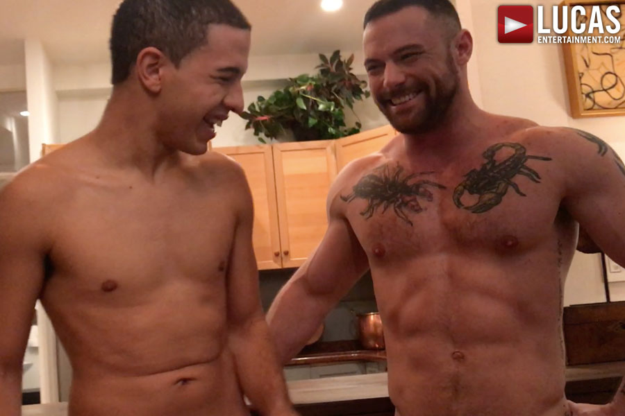 Watch Behind-The-Scenes Footage Starring Sergeant, Drae, And Dylan
