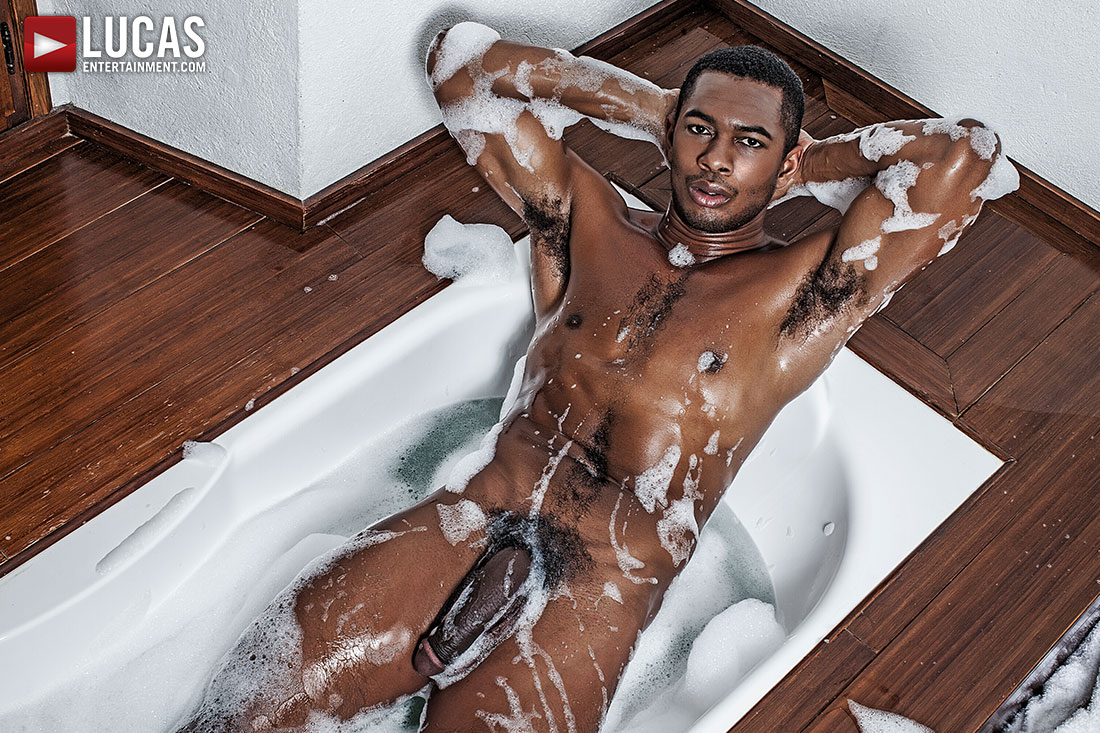 Showcasing Sean Xavier's 10-Inch Big Black Dick