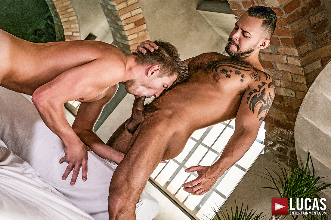 Bogdan Gromov Knows His Place… On Viktor Rom's Dick
