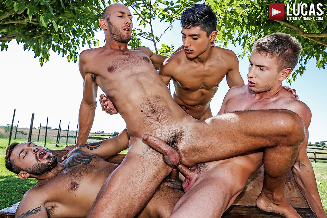 Ken Summers And Dominic Arrow Take Double The Dick In Today's Scene