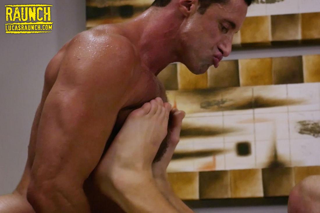 Nick Capra Sucks On Feet Over On Lucas Raunch