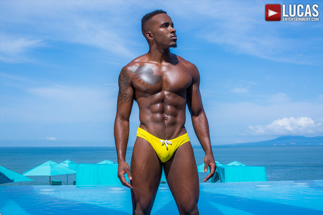 Revel In the Perfection of Pheonix Fellington's Abs