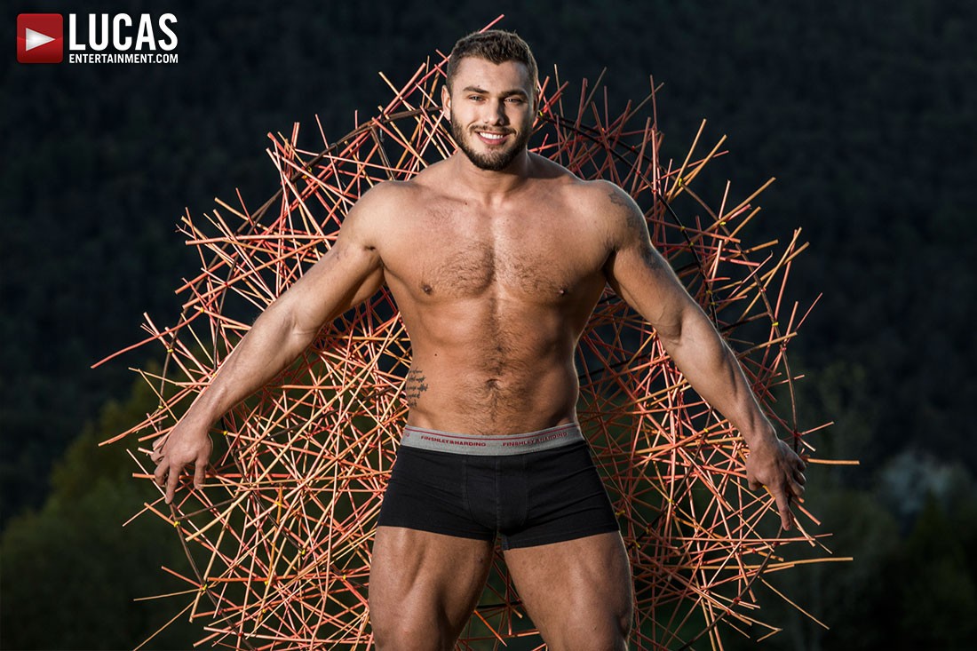 Brock Magnus Whips Out His Uncut Czech Cock Next Monday