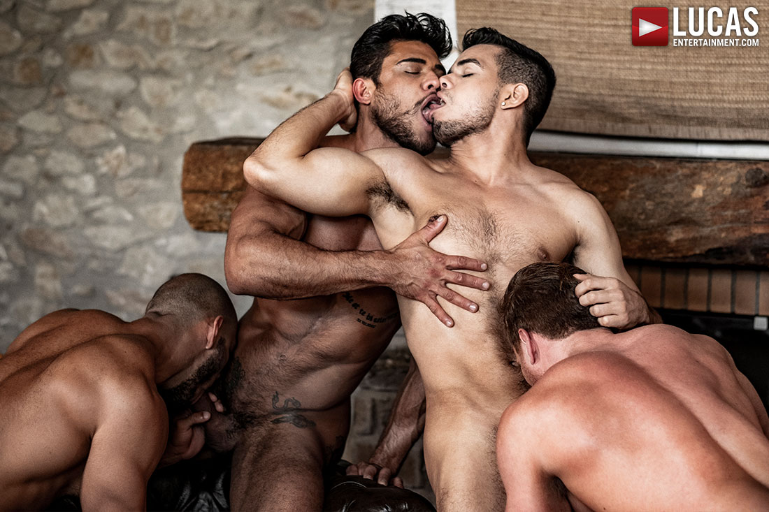 'Rico Marlon's Raw Orgy' DVD And Digital Download: On Sale Now