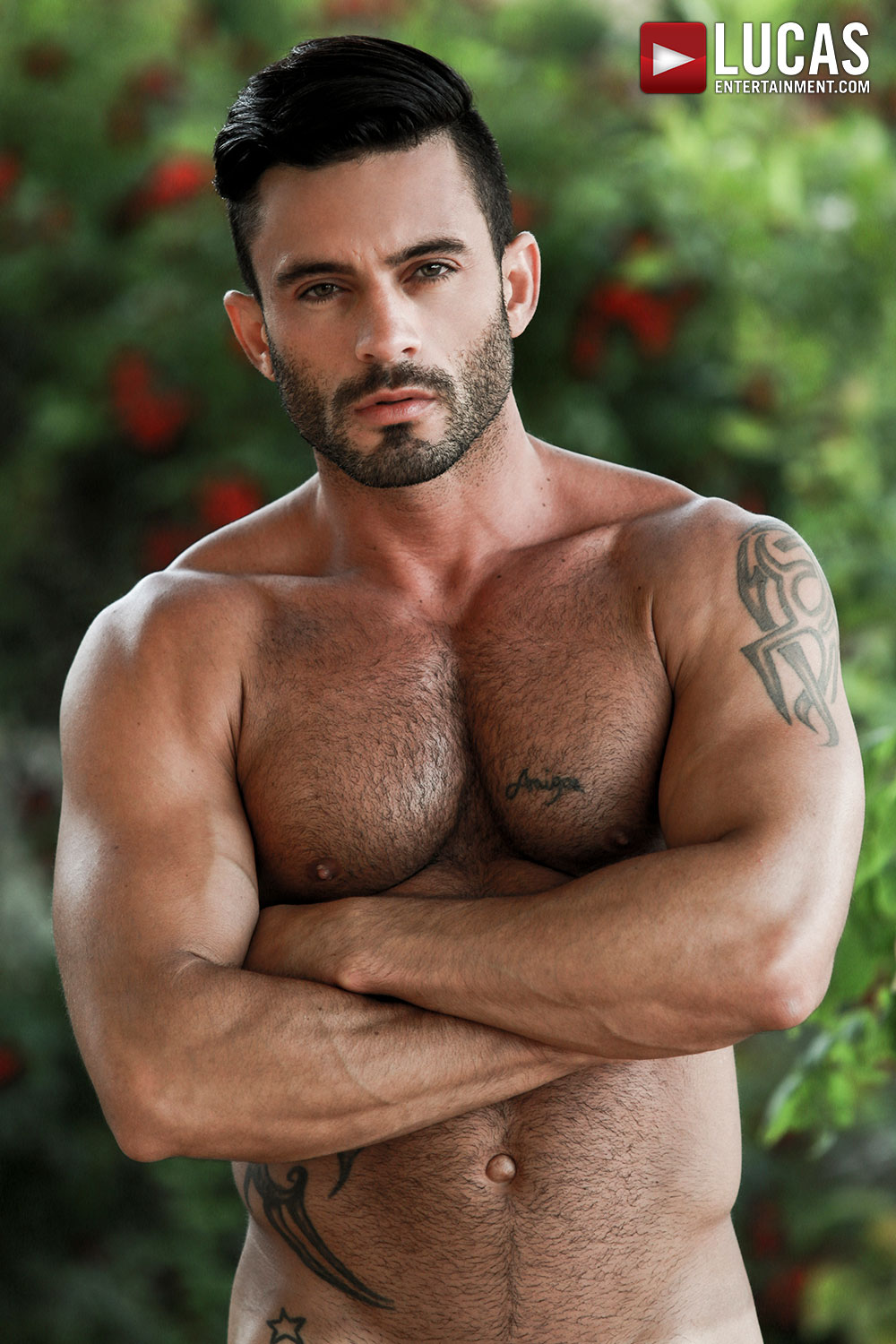 Andy Star And His Abs Star In Today's Scene