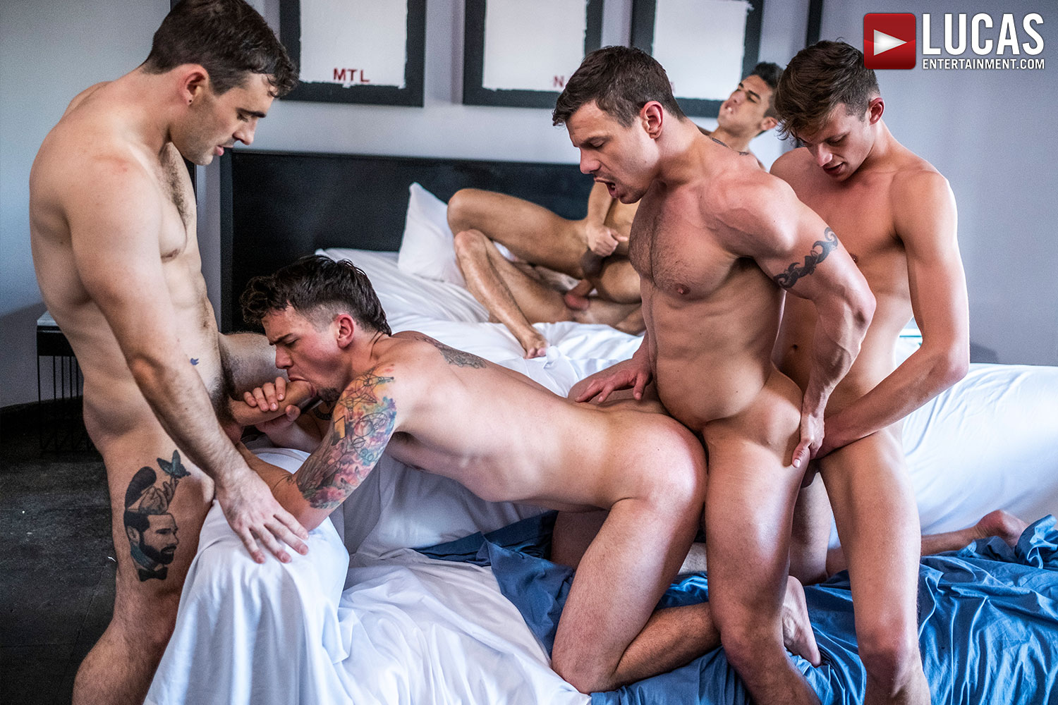 Max Arion Leads A 6-Man Orgy This Friday