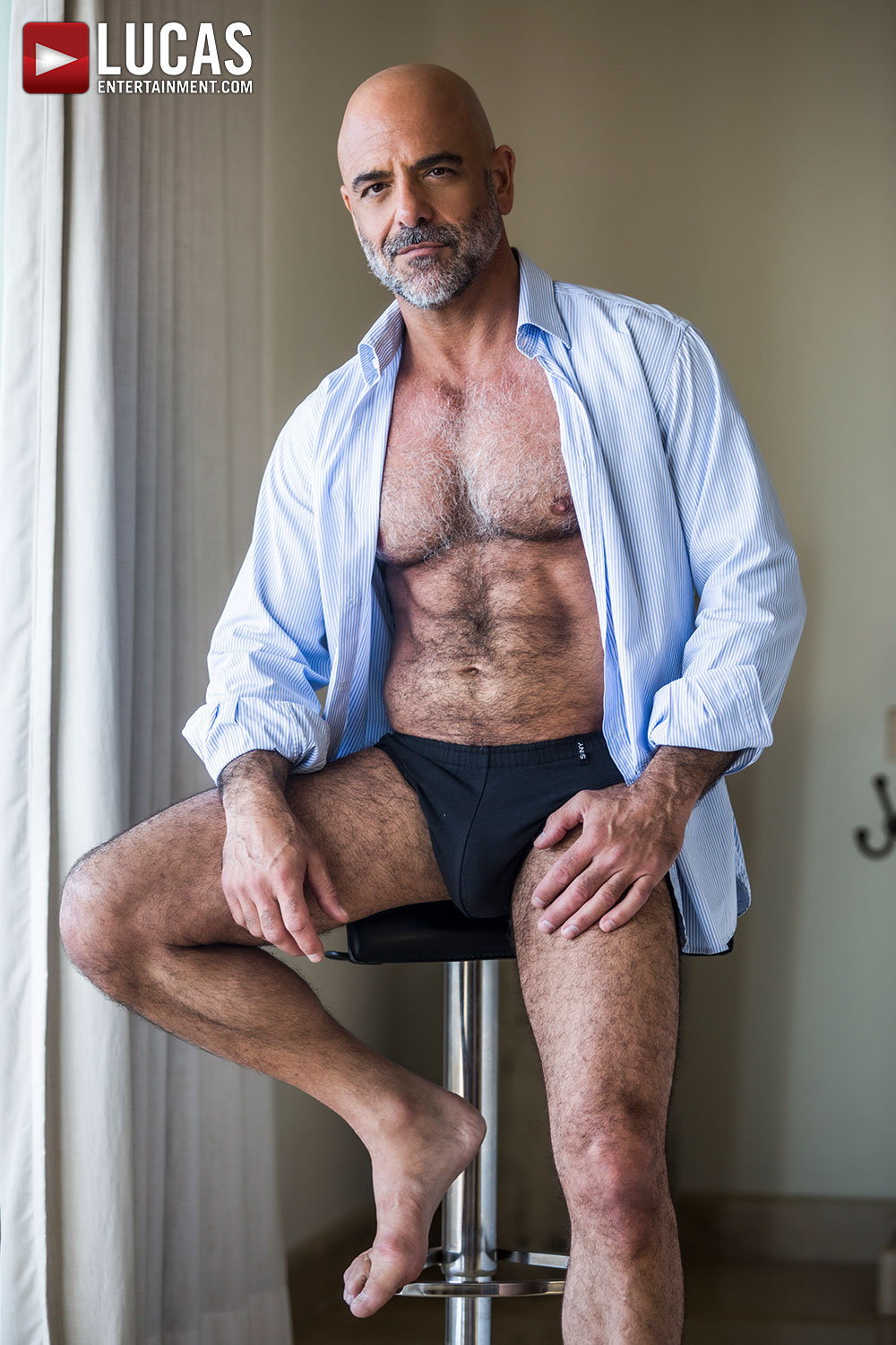 Adam Russo, Handsome Silver Daddy, Stars In Today's Scene