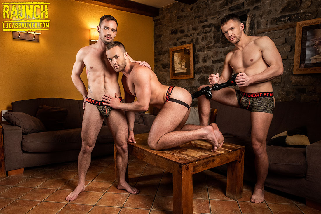 Andrey Vic, Drake Rogers, Jackson Radiz, And One Big Fuck Machine