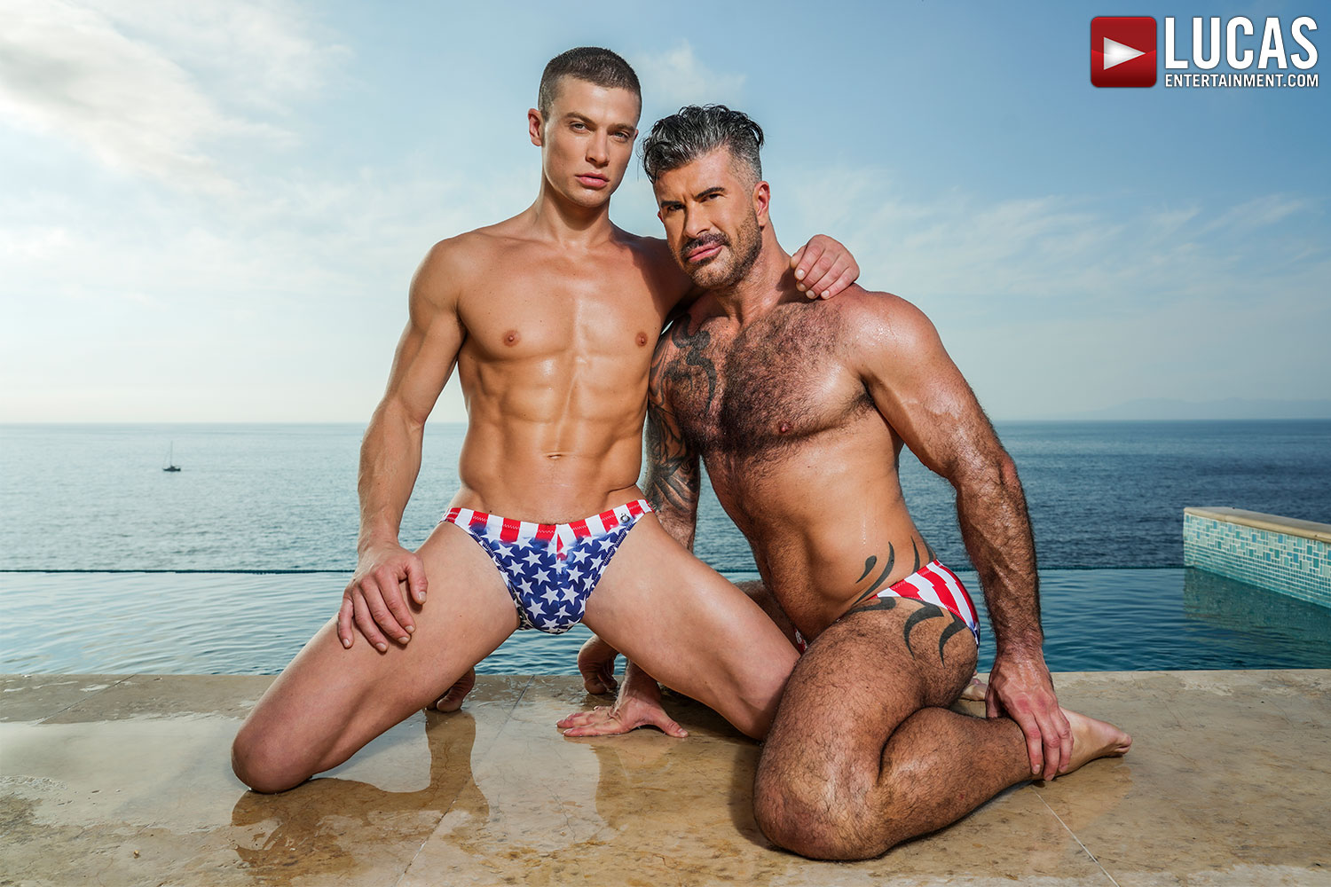 Scene Highlight: Adam Killian Works Up SWEAT With Ruslan Angelo