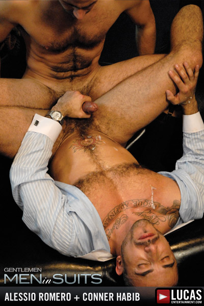 Horny executives Alessio Romero & Conner Habib fuck with authority!