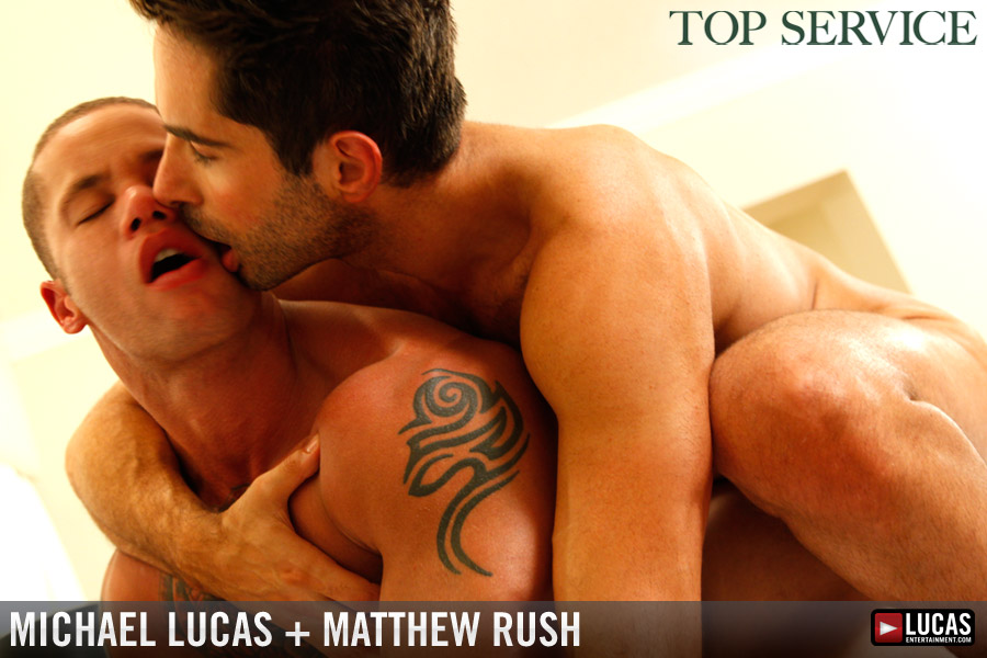 BTS Exclusive:  Michael Lucas and Matthew Rush's INSTANT CLASSIC