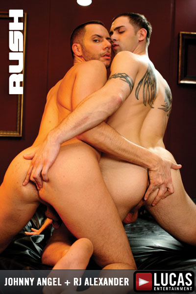 Johnny Angel Jackhammers RJ Alexander's Tight Hole in RUSH!