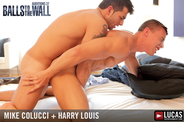Massive cum shot when Harry Louis fucks Mike Colucci!